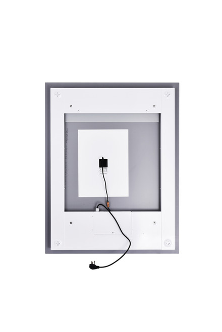CWI LIGHTING 1232W32-40-A Rectangle Matte White LED 32 in. Mirror From our Abril Collection