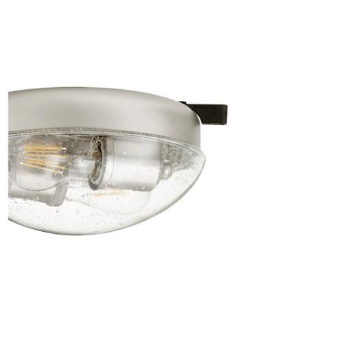 QUORUM INTERNATIONAL 1370-65 2-Light LED Patio Light Kit, Satin Nickel
