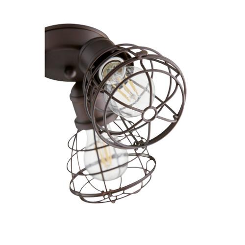 QUORUM INTERNATIONAL 2314-86 3-Light LED Patio Light Kit, Oiled Bronze