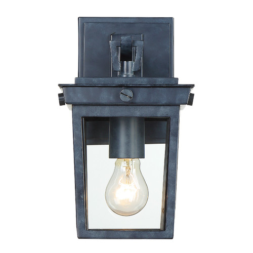 CRYSTORAMA BEL-A8061-GE Belmont 1 Light Graphite Outdoor Wall Mount