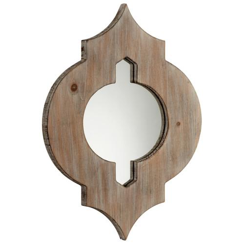 CYAN DESIGN 05103 Turk Mirror, Washed Oak