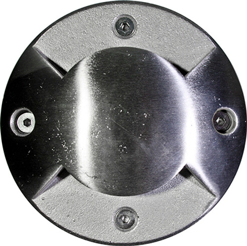 DABMAR LIGHTING LV320-LED4-SS316-RGB SS316 IN-GROUND DRIVE-OVER WELL LIGHT 4W RGBW LED MR16 12V, 316 Marine Grade Stainless Steel