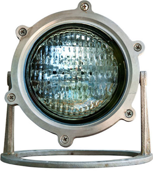 DABMAR LIGHTING LV308-SS316  Marine Grade 316 Stainless Steel W/21' Cord Underwater Fixture 35 Watt Par36 12 Volts, 316 Marine Grade Stainless Steel