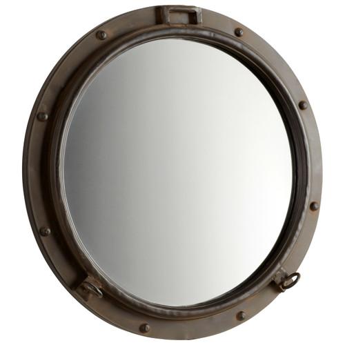 CYAN DESIGN 05081 Porto Mirror, Rustic Bronze