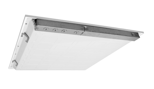 NICOR T6C22HU35 T6C Series 2x2 Ft. High-Output LED Troffer, 3500K (120-277V)