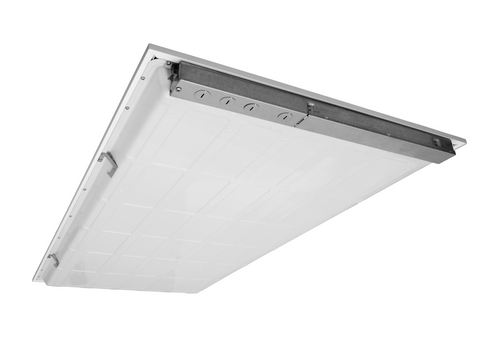 NICOR T6C24HU35 T6C Series 2x4 Ft. High-Output LED Troffer, 3500K (120-277V)