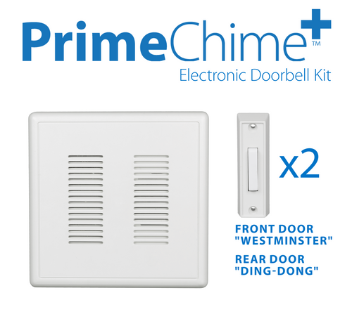 NICOR PRCP1 PrimeChime Plus - Video Compatible Doorbell Chime Kit