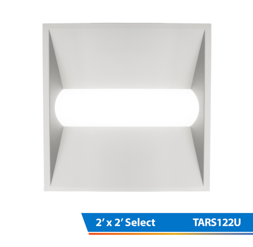 NICOR TARS122U TAR Select Series 2x2 Ft. Architectural LED Retrofit Troffer