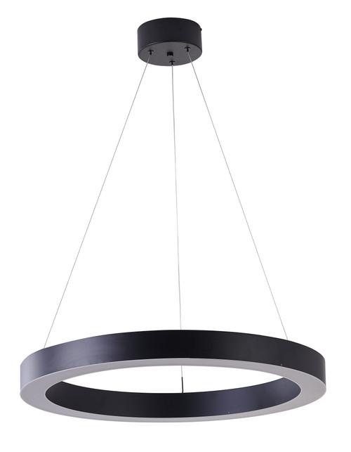 Bethel International  MU30BC25B 1-Light LED Chandelier Matte Black