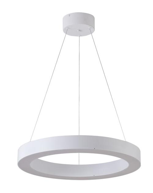 Bethel International  MU30CC21W 1-Light LED Chandelier Matte White