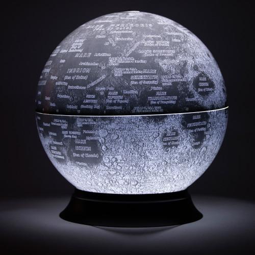 """REPLOGLE 83522 12"""" MOON GLOBE - Illuminated"""