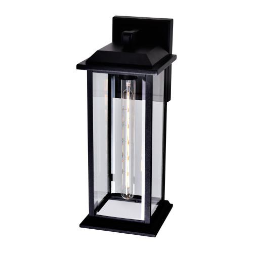 CWI LIGHTING 0409W8-1-101-A Blackbridge 1 Light Outdoor Black Wall Lantern