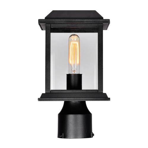 CWI LIGHTING 0409PT6-1-101 Blackbridge 1 Light Outdoor Black Lantern Head