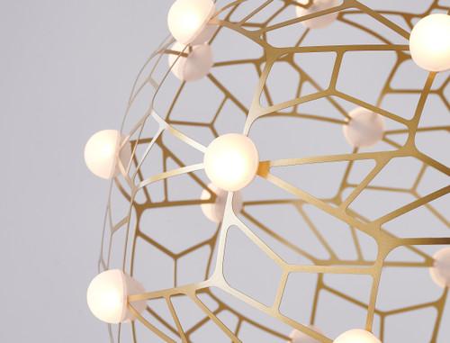 Bethel Internatioanl FIT01C39G 152-Light LED Chandelier