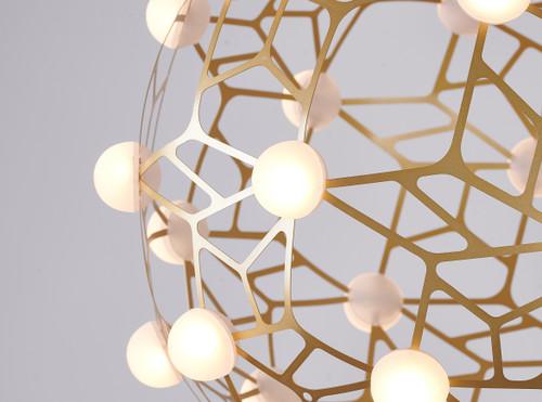 Bethel Internatioanl FIT03C23G 70-Light LED Chandelier