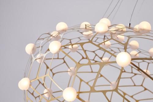 Bethel Internatioanl FIT06C31G 90-Light LED Chandelier