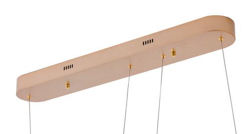 Bethel Internatioanl FIT16C31G 2-Light LED Chandelier