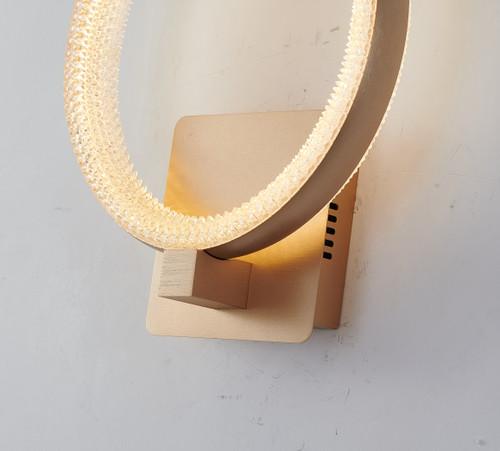 Bethel Internatioanl FIT25W13G 1-Light LED Wall Sconce