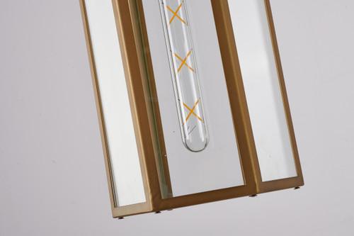 Bethel Internatioanl KC03P15BR 1-Light Outdoor Pendant