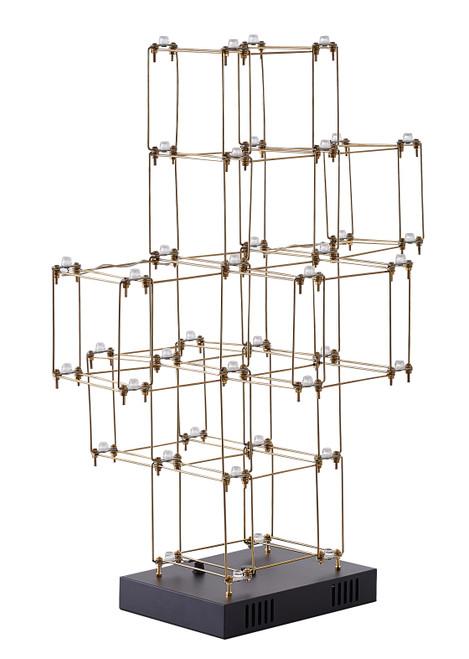 Bethel Internatioanl BE28T26G 38-Light LED Table Lamp