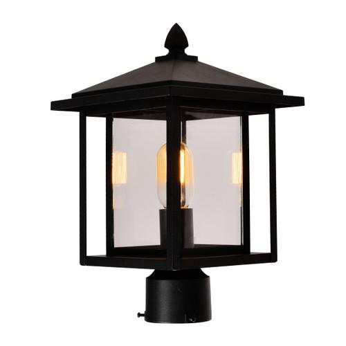 CWI LIGHTING 0417PT9-1-101 Crawford 1 Light Black Outdoor Lantern Head
