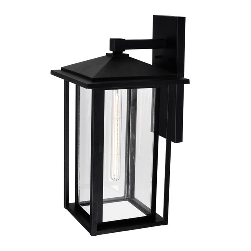CWI LIGHTING 0417W11-1-101 Crawford 1 Light Black Outdoor Wall Light