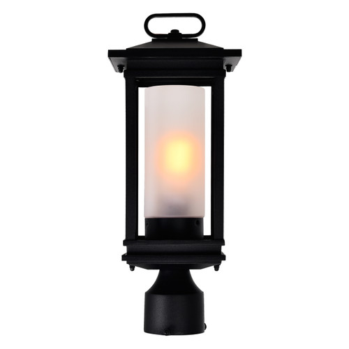CWI LIGHTING 0412PT7-1-101 Granville 1 Light Black Outdoor Lantern Head
