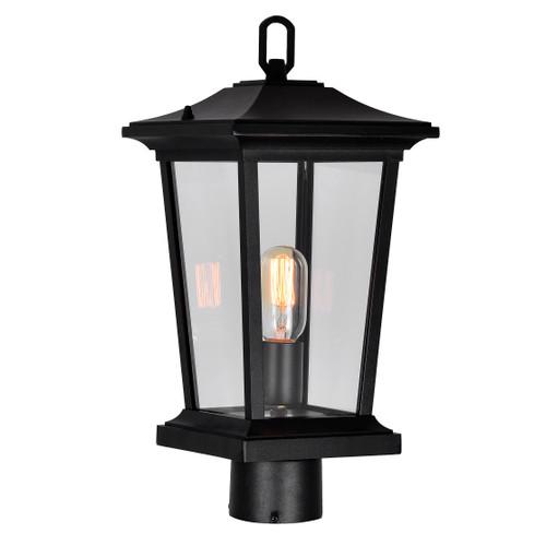 CWI LIGHTING 0413PT8-1-101 Leawood 1 Light Black Outdoor Lantern Head