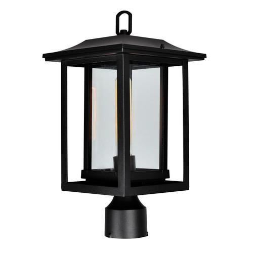CWI LIGHTING 0414PT10-1-101 Winfield 1 Light Black Outdoor Lantern Head
