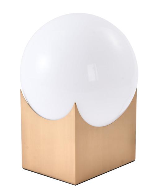 BETHEL INTERNATIONAL DLS39T10G 1-Light Table Lamp Gold