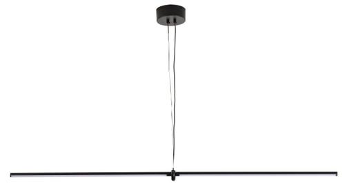 BETHEL INTERNATIONAL DLS25C43B 1-Light LED Chandelier  Black