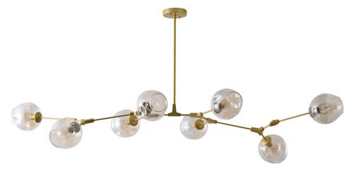 BETHEL INTERNATIONAL DLS59C70G 7-Light Chandelier Gold
