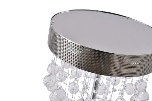 BETHEL INTERNATIONAL LX03T 3-Light Table Lamp Chrome