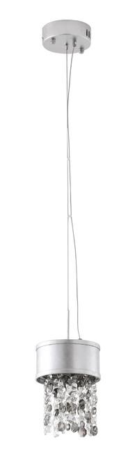 Bethel International ZL13S-SLV LED Pendant Silver