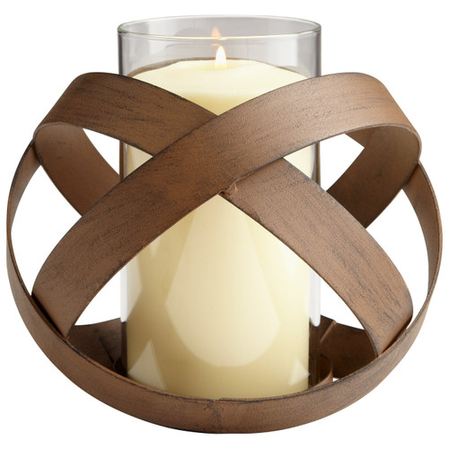 CYAN DESIGN 06212 Medium Infinity Candleholder, Copper