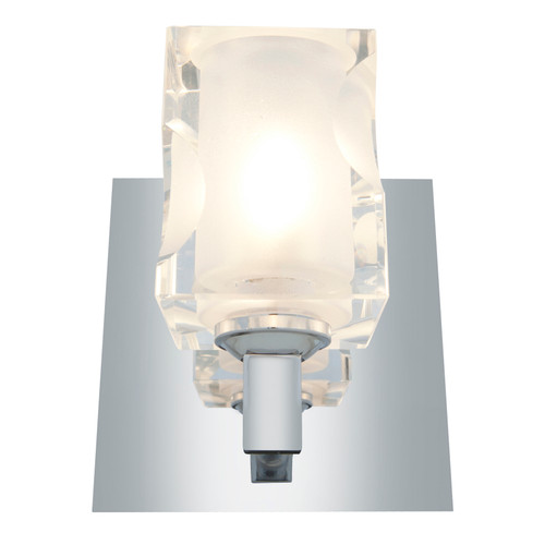ACCESS Lighting 23916-CH/FCL Glas_e 4-Light Crystal Chrome Wall/Vanity