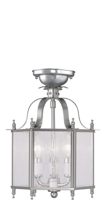 LIVEX Lighting 4397-91 Livingston 3-Light Convertible Pendant Light