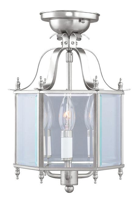 LIVEX Lighting 4403-91 Livingston 3-Light Convertible Pendant Light