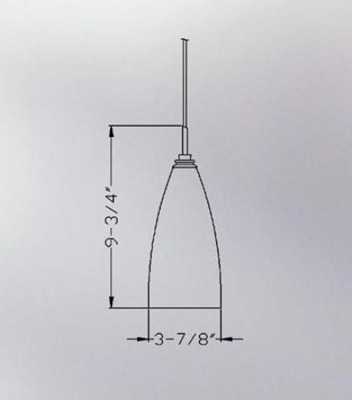 Swirling Mars Torpedo 3-Light Multi-Light Pendant
