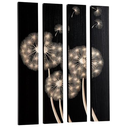 CYAN DESIGN 07522 Float On Wall Art, Black