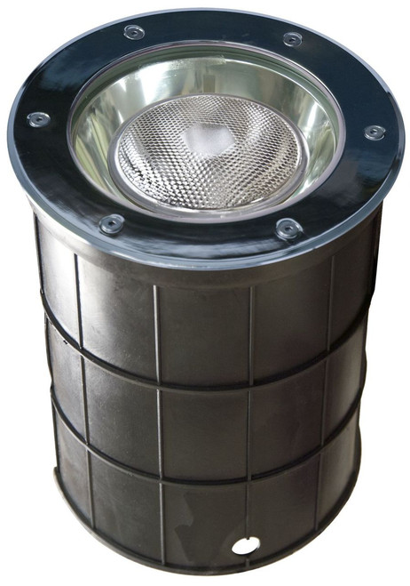 DABMAR LIGHTING DW1200 Stainless Steel In-Ground Well Light, Stainless Steel