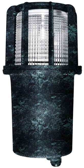 DABMAR LIGHTING DW15-VG Cast Aluminum In-Ground Well Light, Verde Green