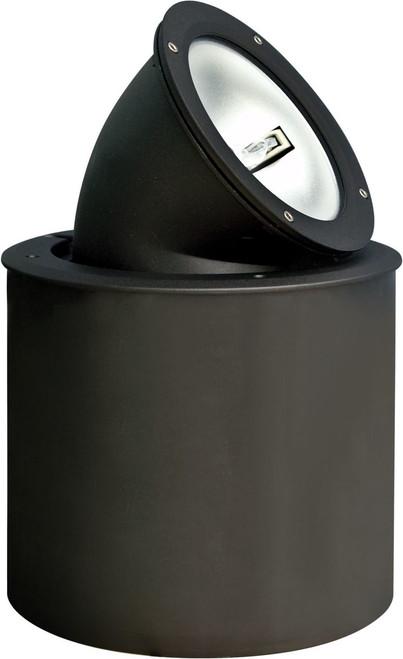 DABMAR LIGHTING DW4900 Cast Aluminum In-Ground Adjustable Well Light, Black