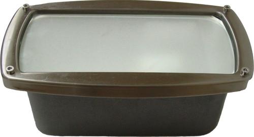 DABMAR LIGHTING DSL1016-BZ Recessed Open Face Brick/Step/Wall Light, Bronze