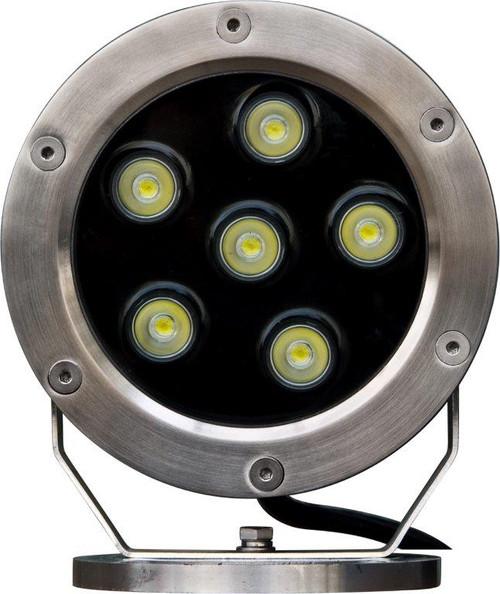 DABMAR LIGHTING LV-LED355-SS316 316 Marine Grade Stainless Steel LED Pond/Fountain Underwater Light, 316 Marine Grade Stainless Steel