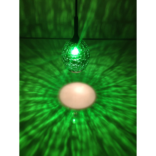 ACCESS LIGHTING 946WJ-JADE Studio C Crackle Glass,