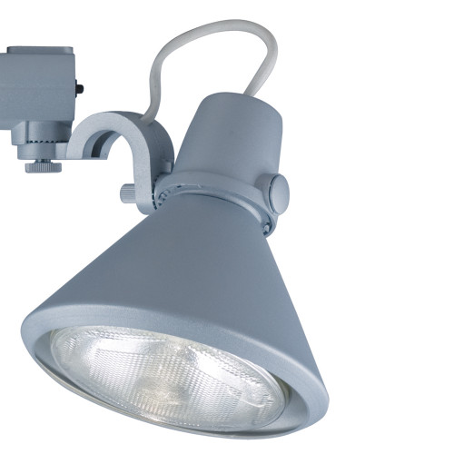 JESCO Lighting HHV904P38-S ConTempo Series Line Voltage Track Light, Silver