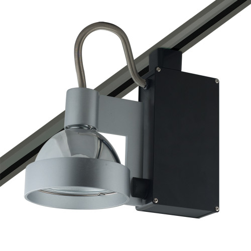 JESCO Lighting HMH701T4NF70B ConTempo Series Metal Halide Track Light, Black