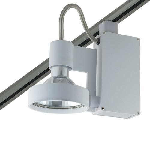 JESCO Lighting HMH701T6FL70S ConTempo Series Metal Halide Track Light, Silver