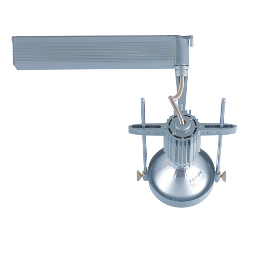 JESCO Lighting HMH901P30391S ConTempo Series Metal Halide Track Light, Silver